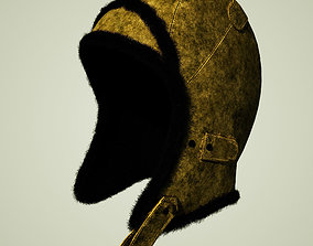Trapper Aviator Hat 2 3D model