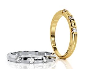 Ring Band R BA 0060 3D print model