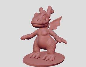 3D printable model Baby dragon