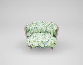 Furniture series - modern chair - 56 3D asset