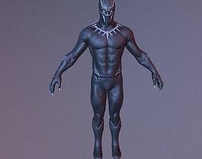 3D asset Black Panther VR Game Model