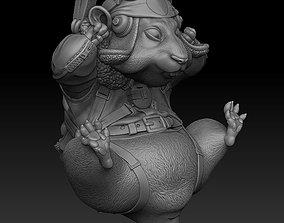 hamster pilot 3D printable model