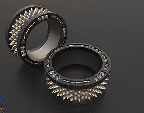 Dungeon Skull Ring 3D printable model