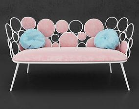 Saba Italia Sofa Grace 3D