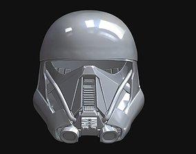 3D printable model Death Trooper Helmet scan