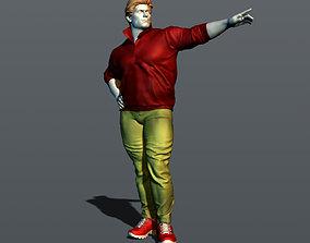 Strong man 3D print model