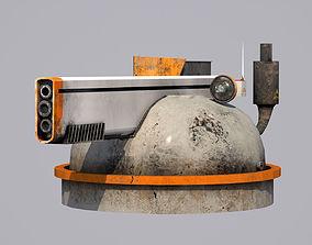 Turret - 01 3D model