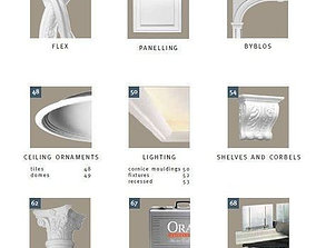 3D model collection of decoration