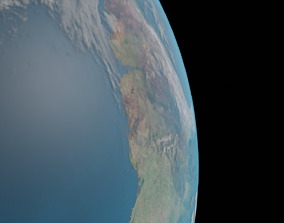 Physically Accurate Earth 3D model