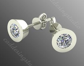 Earrings bi 10 3D print model