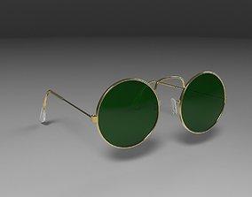 Sunglasses round 3D model