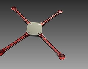 3D Printable Quick-Connect Quadcopter