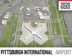 Pittsburgh Airport 3D asset