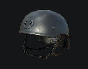 Tactical Helmet PBR Game-ready 3D asset