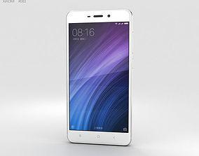 3D model Xiaomi Redmi 4 Silver
