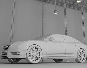 Aoudi A5 sportback 3D asset