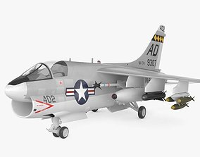3D model LTV A-7 Corsair II