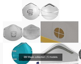 3D 3M Mask collection
