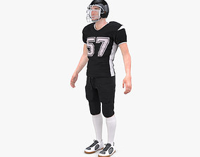 3D model American Football Player