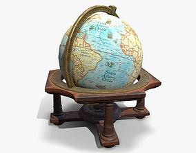 Antique Globe 3D asset VR / AR ready
