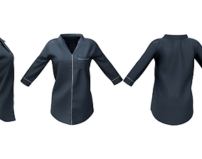 Sleep Shirt 3D model