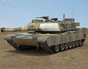 models M1A1 Abrams 3D