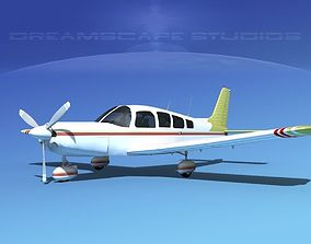 3D Piper Cherokee Six 300 V07