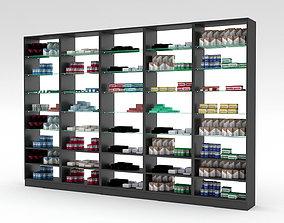 3D asset pharmacy decorative medicine cabinet 03