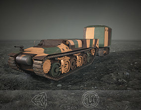Lorraine 37L Tank 3D model