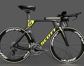 Scott Plasma S time-trial bike 3D model