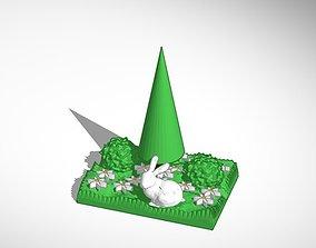 spring bunny 3D printable model