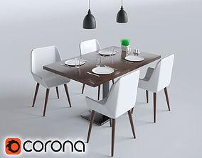 Free Furniture Set 3d Models Cgtrader