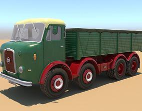 Seddon DD8 Lorry 3D asset