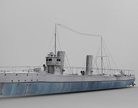 3D model The Sultanhisar Torpedo Boat