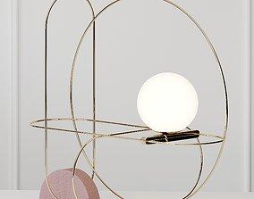 SETAREH - Table Lamp Fontana Arte 3D