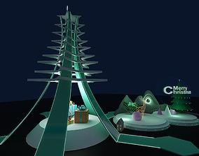 3D model Christmas Decoration Art Display 1