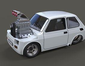 Crazy Fiat 126p 3D model