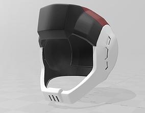 Gundam MS Pilot driver Helmet Zeon 3D printable model