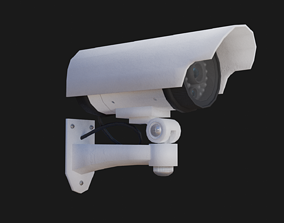 camera 3D model low-poly Security Camera