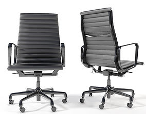 Eames Aluminum Group Executive Chair 3D model