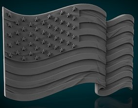 3D print model americanflag American Flag