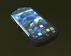 SmartPhone Low poly 3D model game-ready