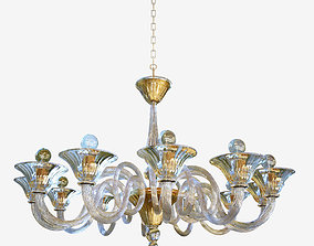 chandelier Sylcom Dolfin 1382 12 3D
