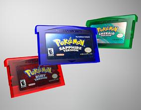 3D Pokemon Gameboy cartridge