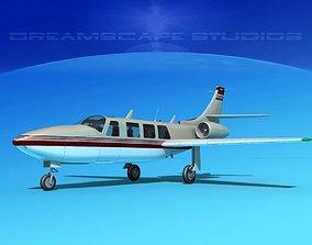 3D model Piper Aerostar FJ-100 Fanjet V10
