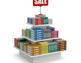 3D model Books on Sale