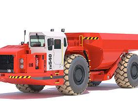 3D model equipment Sandvik DD530 Mining Jumbo | CGTrader