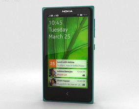 3D model Nokia X Green