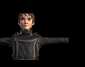 3D asset Boy Child