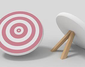 Target 3D model game-ready